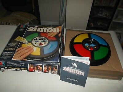 Vintage Simon Game 1978 By Mb Games Boxed, Great Condition, Fully Working • 18£