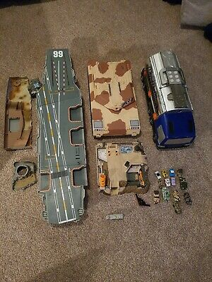 Micro Machines Cars Military Bundle Playset And Vehicles • 27.50£