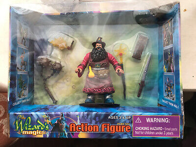 The Wizard's Magic Action Figure Playset BHS • 10£