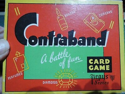 CONTRABAND Playing Cards Smuggling Game • 3.70£