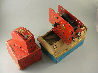 Vintage Meccano Resistance Controller & Switch Motor. Boxed • 27.89£