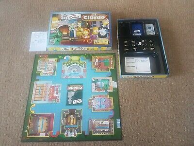 The Simpsons Cluedo Board Game • 3.20£
