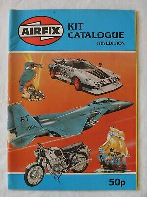 Airfix 1980 Construction Kit Catalogue Seventeenth 17 Edition • 15£