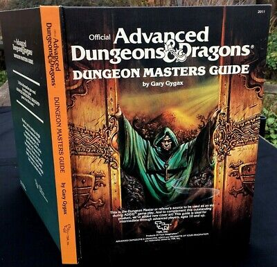 Advanced Dungeons & Dragons Dungeon Masters Guide Tsr Gary Gygax 1st Editio 1979 • 14.99£
