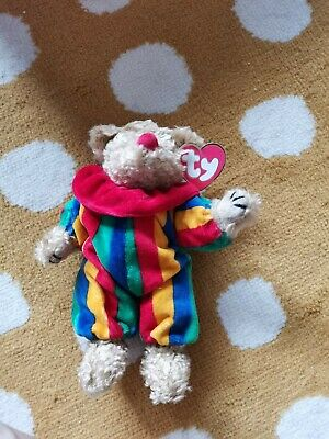 Ty Beanies Bear - Attic Treasures Piccadilly With Tags - Mint - Retired • 4£