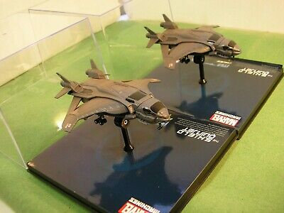 2 X Nick Fury QUINJET Shield Marvel Machines New DISPLAY CASE Fighter Jet SCI-FI • 14.08£