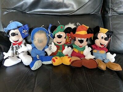 Disneyland Paris Mickey Mouse Park Land Beanie Set • 60£