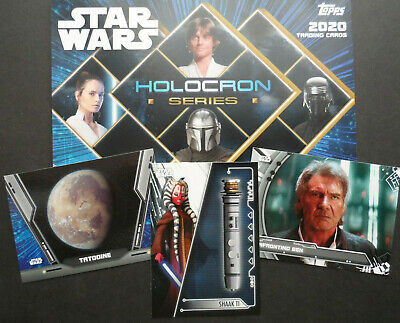 Topps Star Wars 2020 Holocron Series Chase Cards Choose Your Card • 4£