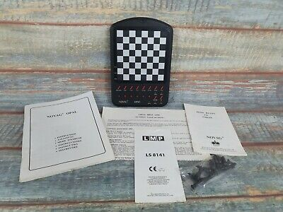 Vintage Novag Opal 9205 Electronic Chess Machin Complete With Original Pieces... • 59.99£