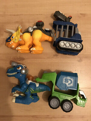 Playskool Csq Raptor Compactor Preschool Figure And Playset Chomp Squad Dinox2 • 11.99£