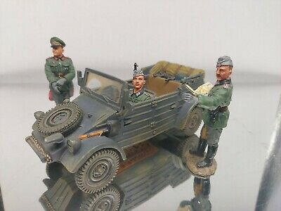 King And Country Fob20 Kubelwagen And Figures German Ww2 • 199.99£