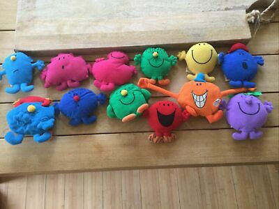 Macdonalds Mr Men Collectable Soft Toy Bundle. • 13£