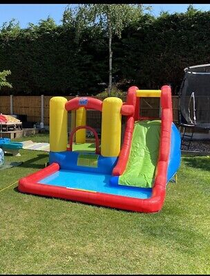 Action Air Water Slide Adventure Inflatable Playground • 250£