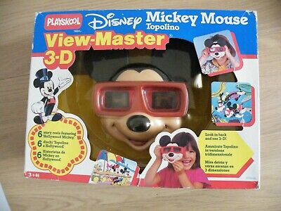 DISNEY MICKEY MOUSE  View-Master-3D ,Playskool, Boxed - New • 56£