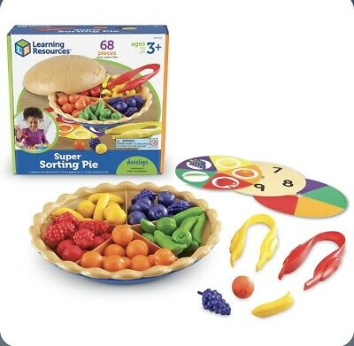 Learning Resources Super Sorting Pie • 8.50£