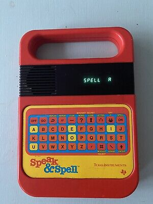 Speak And Spell Vintage Computer In Working Order Texas Instruments • 42£