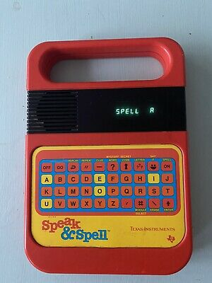 Speak And Spell Vintage Computer In Working Order Texas Instruments • 16£