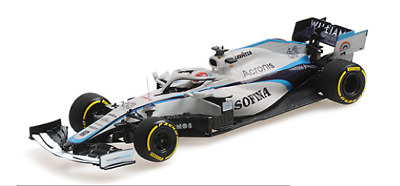 1/43 Minichamps George Russell Williams Racing FW23 2020 Hungarian Grand Prix • 85£