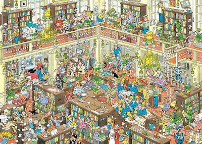 Jan Van Haasteren The Library Jigsaw Puzzle (2000 Pieces) • 20.99£
