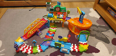 Vtech Toot-toot Drivers Train Set With Box • 20£