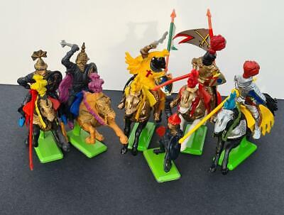 Britains Knights Of The Sword  X 6 In Very Good Condition. • 16£