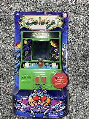 GALAGA Mini Hand Held Classic Retro ARCADE Game (NAMCO / Basic Fun) Desktop BNIB • 15£