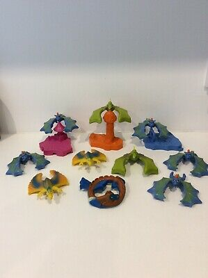 10 Vintage 1997 McDonalds Collectable Balancing Dragon Toy Bundle! • 8.99£
