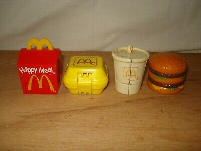 4 Mcdonalds Changeables.   • 18£