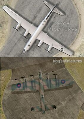 Noy's Miniatures 2 In 1 WWII RAF & USAAF Heavy Bombers Runway/Hard Standing • 29.50£