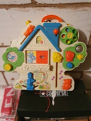 Fisher Price 1985 Vintage Activity Centre Musical Baby Cot Playpen • 19.99£