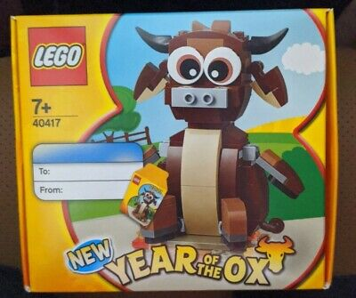 LEGO 40417 Year Of The OX  BRAND NEW SEALED IN BOX* • 22.62£