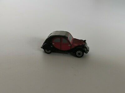 Micro Machines Citroen 2CV With Blue License Plate. Vintage Galoob • 25£