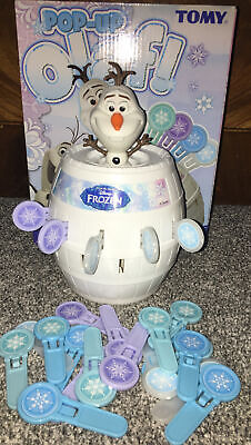 TOMY Disney Frozen Pop Up Olaf- Fun For All The Family Game • 3.50£