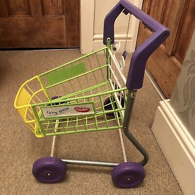 Toy Shopping Trolley & ELC Food Items • 10£