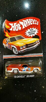 Hotwheels Redline Club Chevelle Delivery RLC Real Rider • 8£