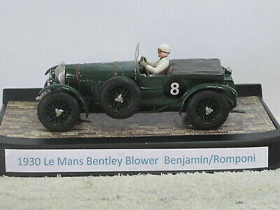 Resin Slot Car 1930 Bentley Blower Suits Scalextric • 125£