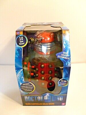 Doctor Who 13 Inch Radio Controlled Paradigm Dalek Red Drone  • 75£