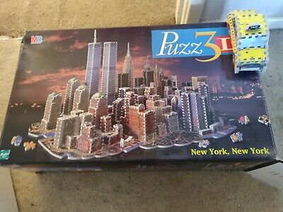 Puzz 3D New York New York 3141 Pieces RARE. Boxed With Taxi And Instructions • 25£