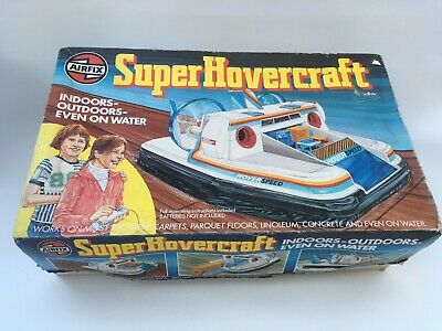 Vintage Airfix Super Hovercraft Completed Kit + Box In Working Order -1980  Rare • 36.99£