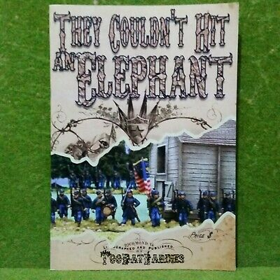 THEY COULDN'T HIT AN ELEPHANT. Rules For American Civil War Battles • 13.95£