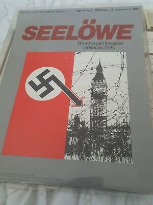 Spi Game Avalon Hill Seelowe • 24.99£