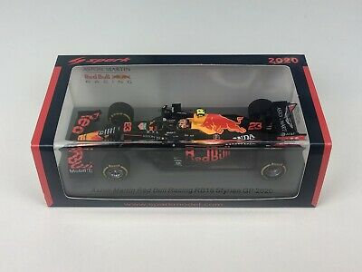 Instock S6473 Spark 1/43 Alexander Albon Red Bull RB16 2020 Styrian GP 4th Place • 50£