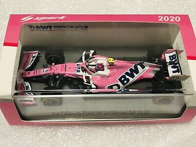 Instock S6475 Spark 1/43 Lance Stroll Racing Point RP20 2020 Styrian Grand Prix • 50£