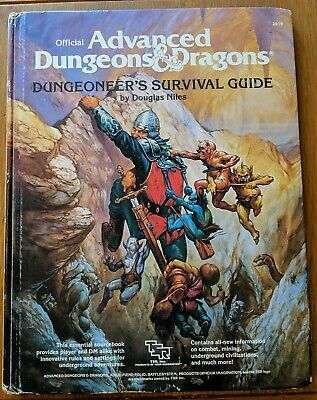 Dungeoneers Survival Guide Advanced Dungeons And Dragons 1E TSR  • 24.99£