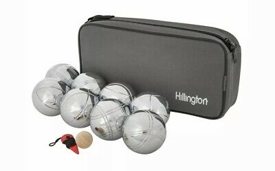 8 French Ball Stainless Steel Boules Set Petanque Outdoor Carry Case Garden Game • 20£