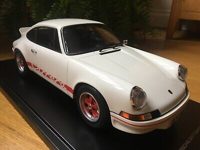 1/12 GT Spirit Porsche 911 Carrera 2.7 RS White/Red With Display Case Rare • 275£