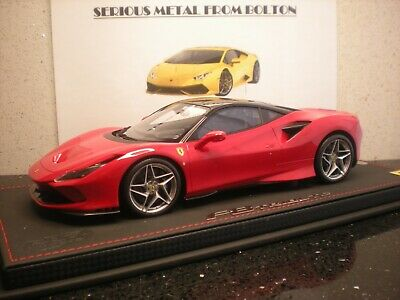 BBR P18171ARCM 'Ferrari F8 Tributo' Red With Black Roof L/E 1:18 • 355£