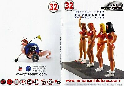 Le Mans Miniatures 1/32 Figurines Brochure / Catalogue 2018 • 1.49£