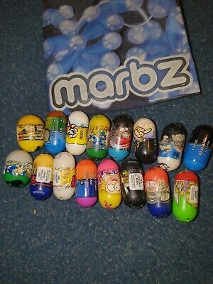 16X JOBLOT BUNDLE OF  - Collectable Beans - Mighty Beanz • 10£