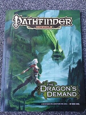 Pathfinder 1e Module - The Dragon's Demand By Mike Shel • 2£
